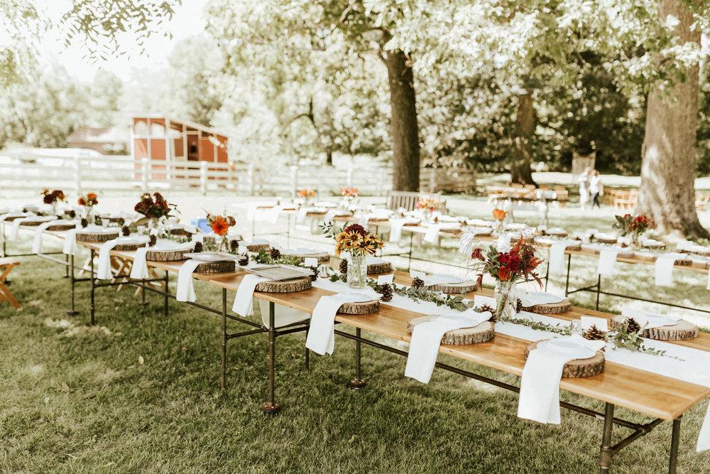 Orange Virginia bed and breakfast wedding