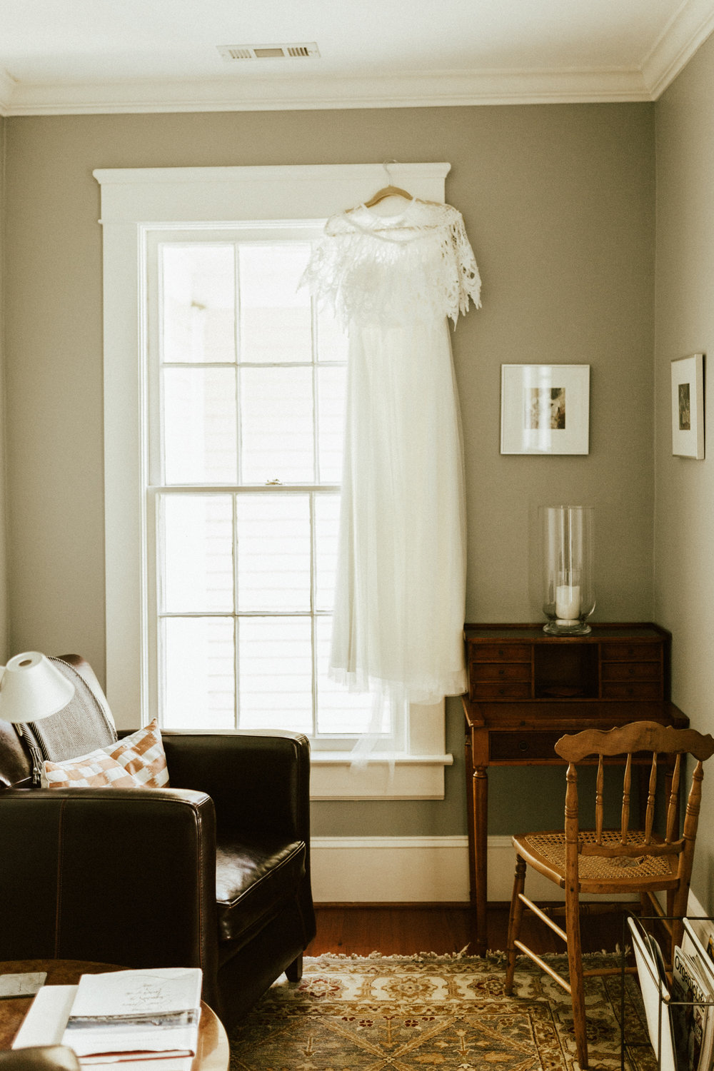 orange virginia bed and breakfast wedding