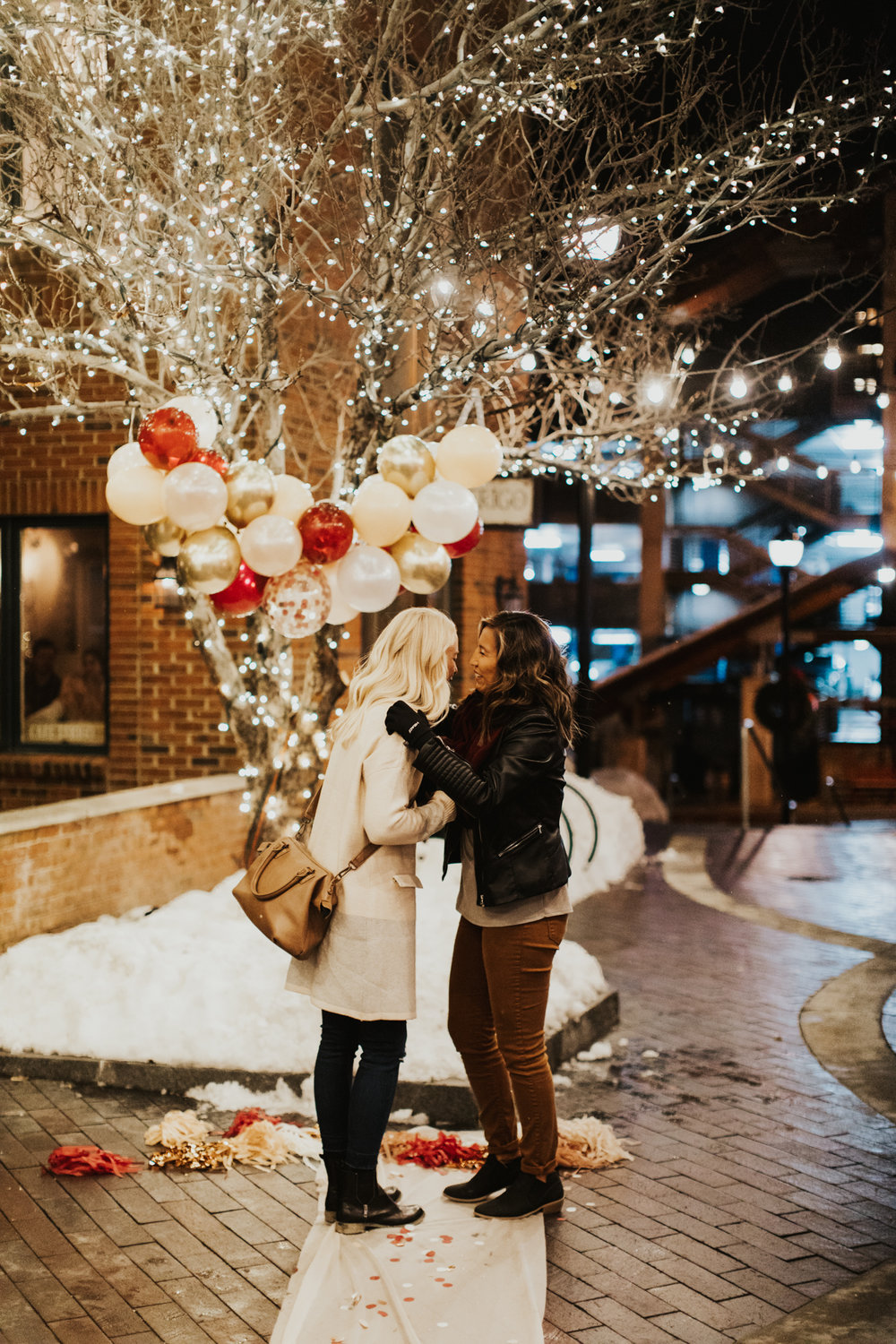 Park city engagement photographer