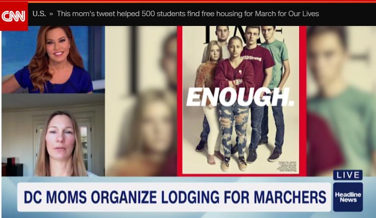 CNN, March 22, 2018