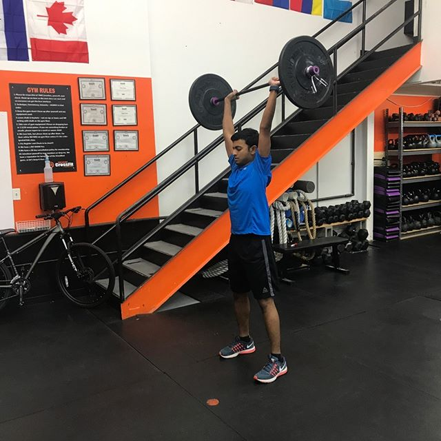 Sai is feeling strong and ready for this week! @RevereCrossFit #revere #crossfit #reverecrossfit #fitfam #sundayfunday