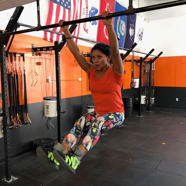 Rosita killing it in the WOD as usual @RevereCrossFit #revere #crossfit #reverecrossfit #fitness #healthy #fitfam