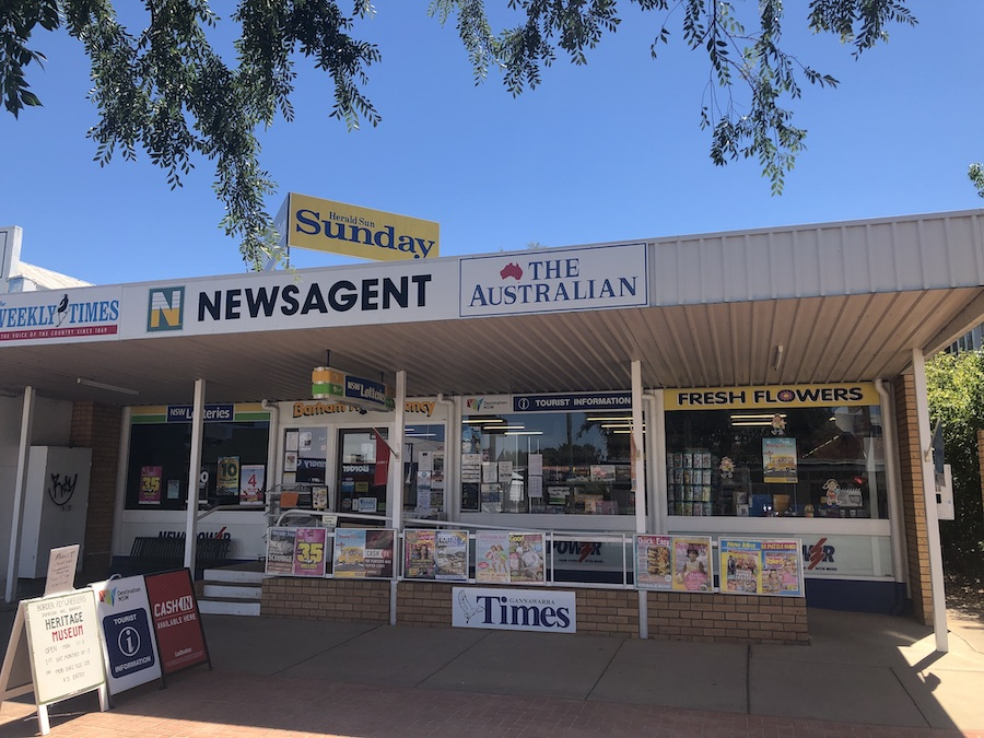 Barham Newsagencey - Tourist Information, Florist and fresh plant gifts and all things stationary.Open 7 days M-F 5.30am - 5pm Weekends & Public Holidays 6am - 12pmA: 32 Noorong St, Barham, NSW, 2732P: 03 5453 2043