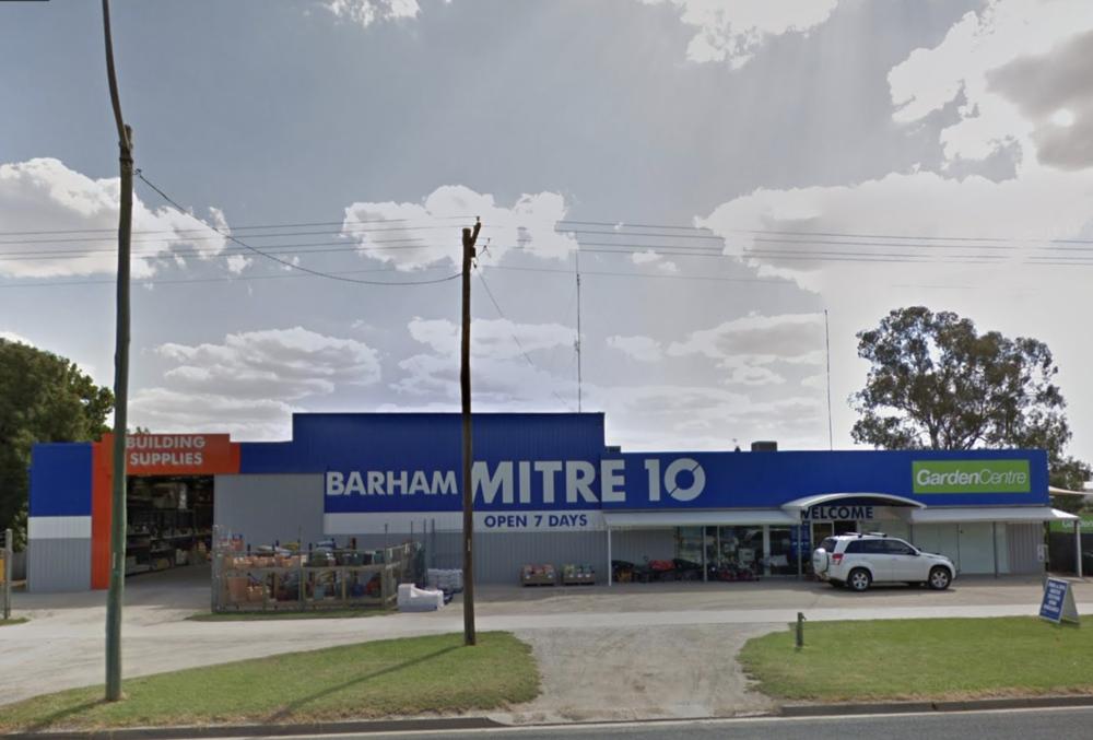 BArham Mitre 10 - Moulamein Rd Barham
