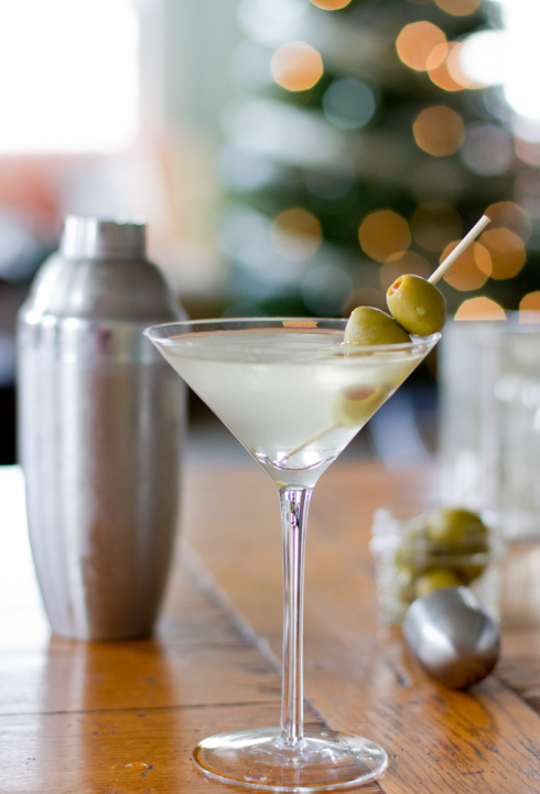 SOUTH FORK DIRTY MARTINI   (SERVES 2)   6 oz South Fork Vodka   Dash of Dry Vermouth   1 oz olive juice  1 cup of ice   3 Olives (We like them stuffed with cheese)   Combine vodka, dry vermouth and olive juice in a cocktail mixing glass.  Fill with ice and stir until chilled.  Strain into a chilled martini glass.  Garnish with three olives on a toothpick.
