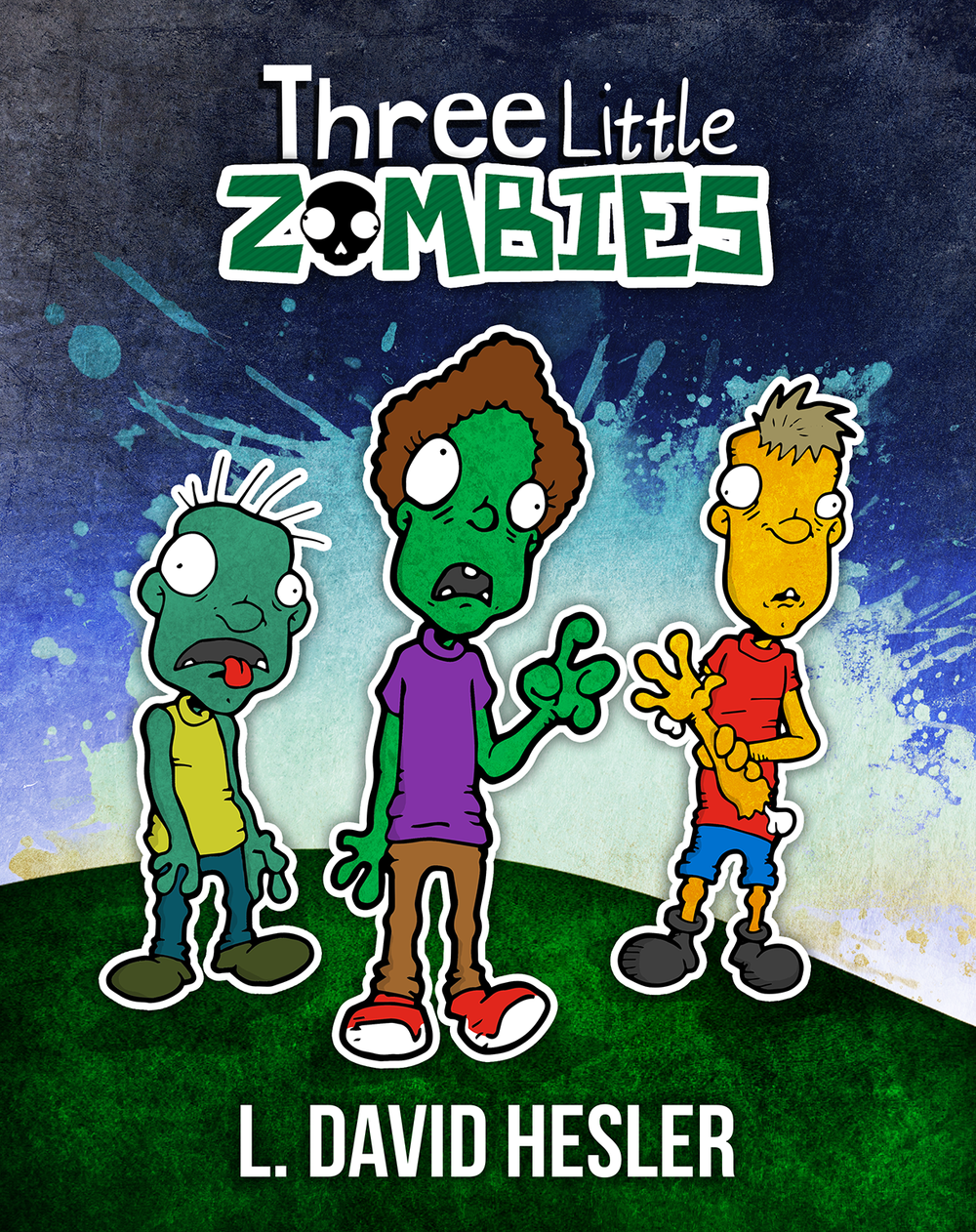 THREE LITTLE ZOMBIES - This is the charming tale of three undead friends who get separated while playing in the dark and dreary corners of town. Hungry, scared, and tired, all these zombies want is to find safe and comfortable places to sleep.Children and adults alike will happily devour this story about the importance of inclusion and the power of making friends.Purchase for iBook, Nook, Kobo, & other ebook platforms.