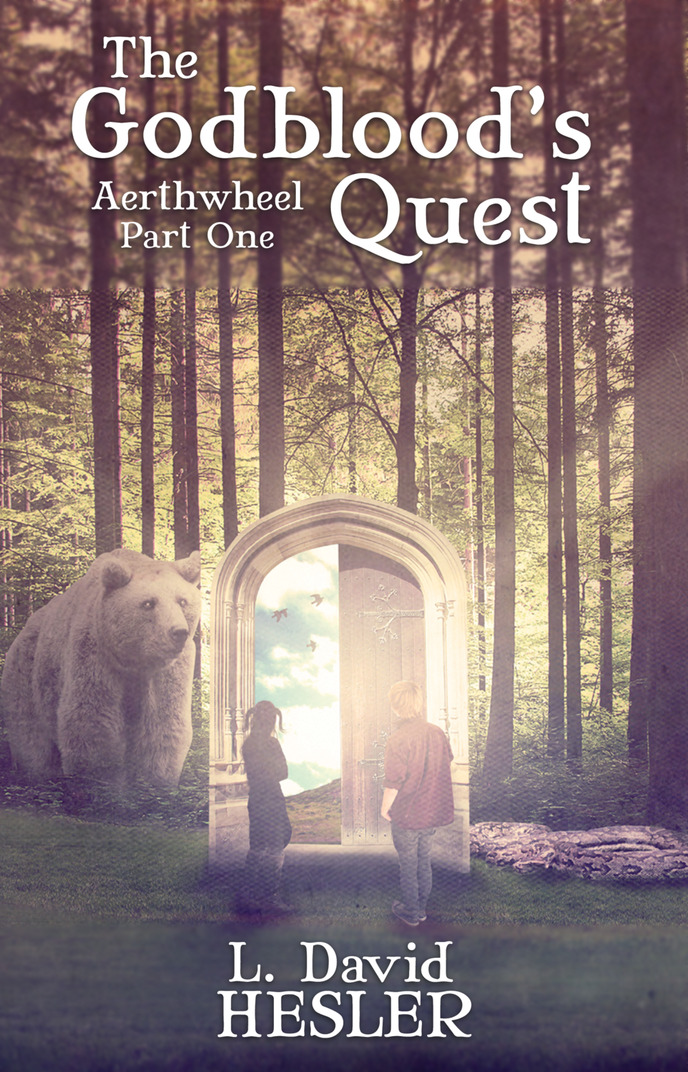 """The Godblood's Quest - (Formerly """"Children of Aerthwheel"""")Available in the following formats:eBook & Print on AmazoneBook & Print on Barnes & NobleeBook for Apple Books, Kobo, & Others"""