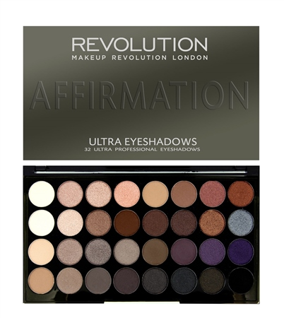 Revoultion Beauty Affirmation Eyeshadow Pallette