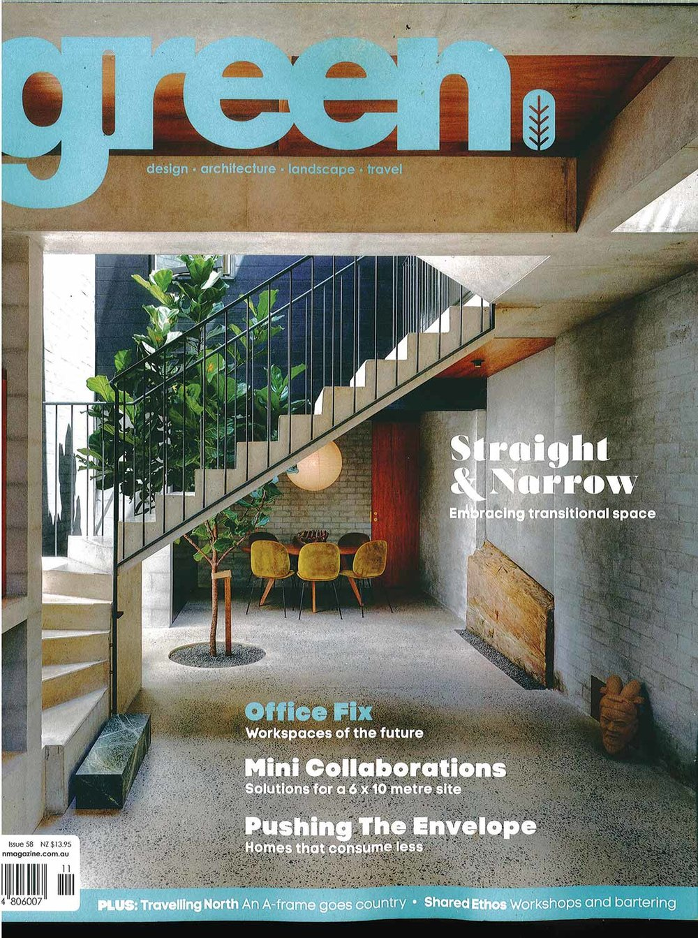 Green Magazine cover