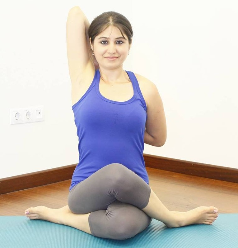 Sneha Aurora - TeacherSneha is internationally certified by the Sivananda Vedanta Centre (Kerela) & The Yoga Institute Mumbai, she also practiced with elite Yoga Masters from different schools of Yoga and incorporates the Iyenger methods while practicing and teaching.Her class is appropriate for students of all levels. Having trained under Bharat Shetty in Mysore, Deepika Mehta in Mumbai, Shashidhar Shreedhar (Founder of Patanjali Ashtanga Yoga centre, Mysore), Hansaji (Yoga Institute –Mumbai), Sivananda Style (Kerela, Uttarkashi). Sneha specializes in teaching Hatha Yoga and Hatha Vinyasa and adapts these styles with skill to the corporate environment. Whether teaching on a chair or on a yoga mat, the tempo of the class makes it appropriate for beginners, while the emphasis on proper alignment makes them challenging enough for more flexible and experienced practitioners. One will experience a class filled with positivity, and change of inner attitudes impacting ones being and happiness from within!