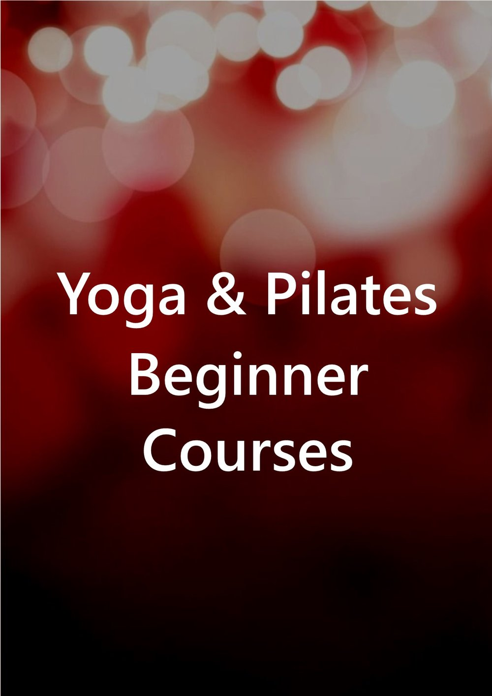 All of our classes are 'beginner friendly' however if, like me, you sometimes find the idea of jumping straight in to things a bit intimidating then please do sign up for one of our Beginners/Returners Yoga or Pilates courses. Relaxed, friendly and welcoming classes at our studio in Crosby/Waterloo, Liverpool. You don't need fancy clothes or even a mat. Places are limited.  Please see here for further information.
