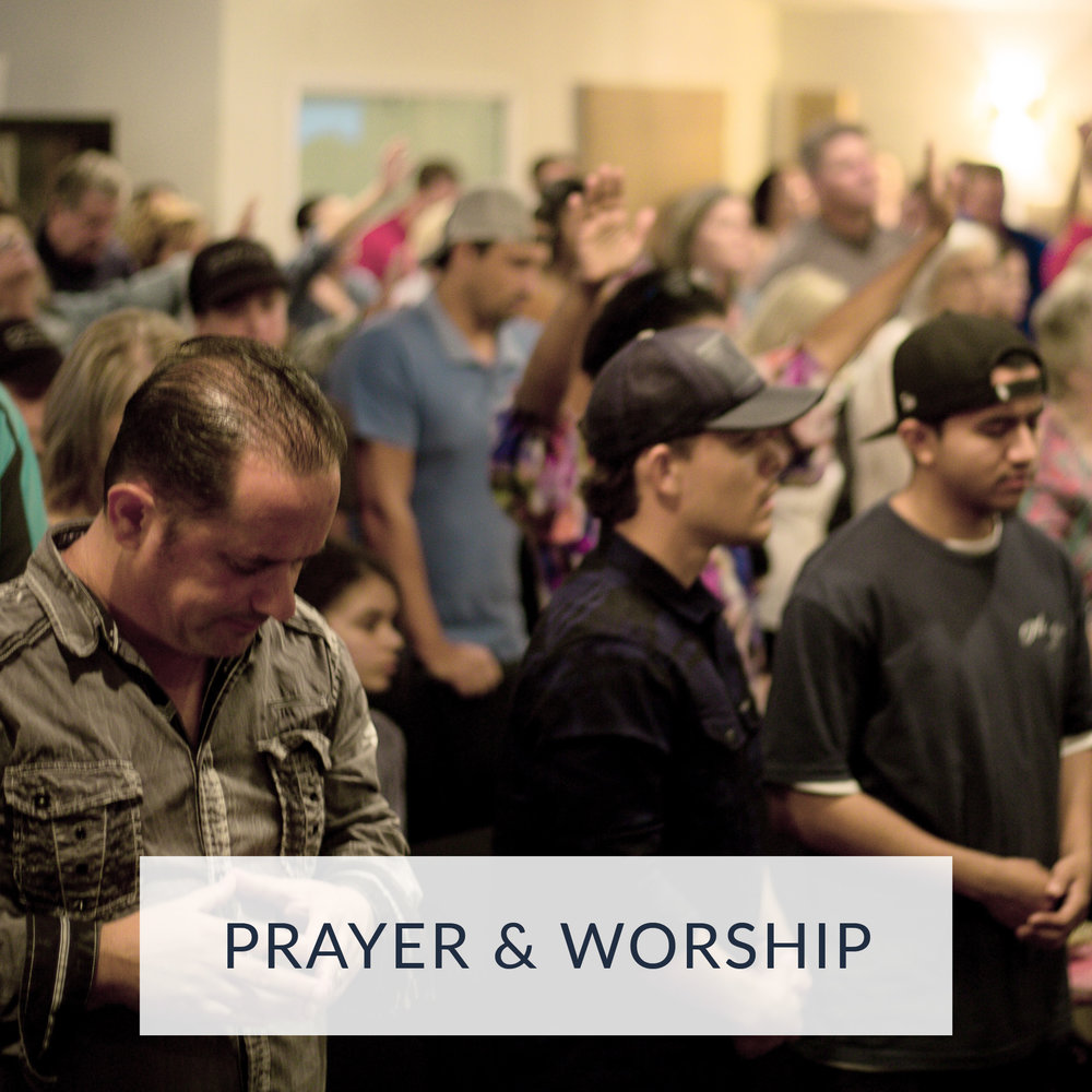 Our Sunday morning church meetings provide weekly worship services to engage with God through worship, the Word and prayer.