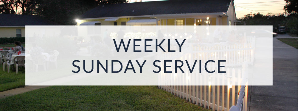 Weekly Sunday Services at Open Door House of Prayer church in Ft. Pierce