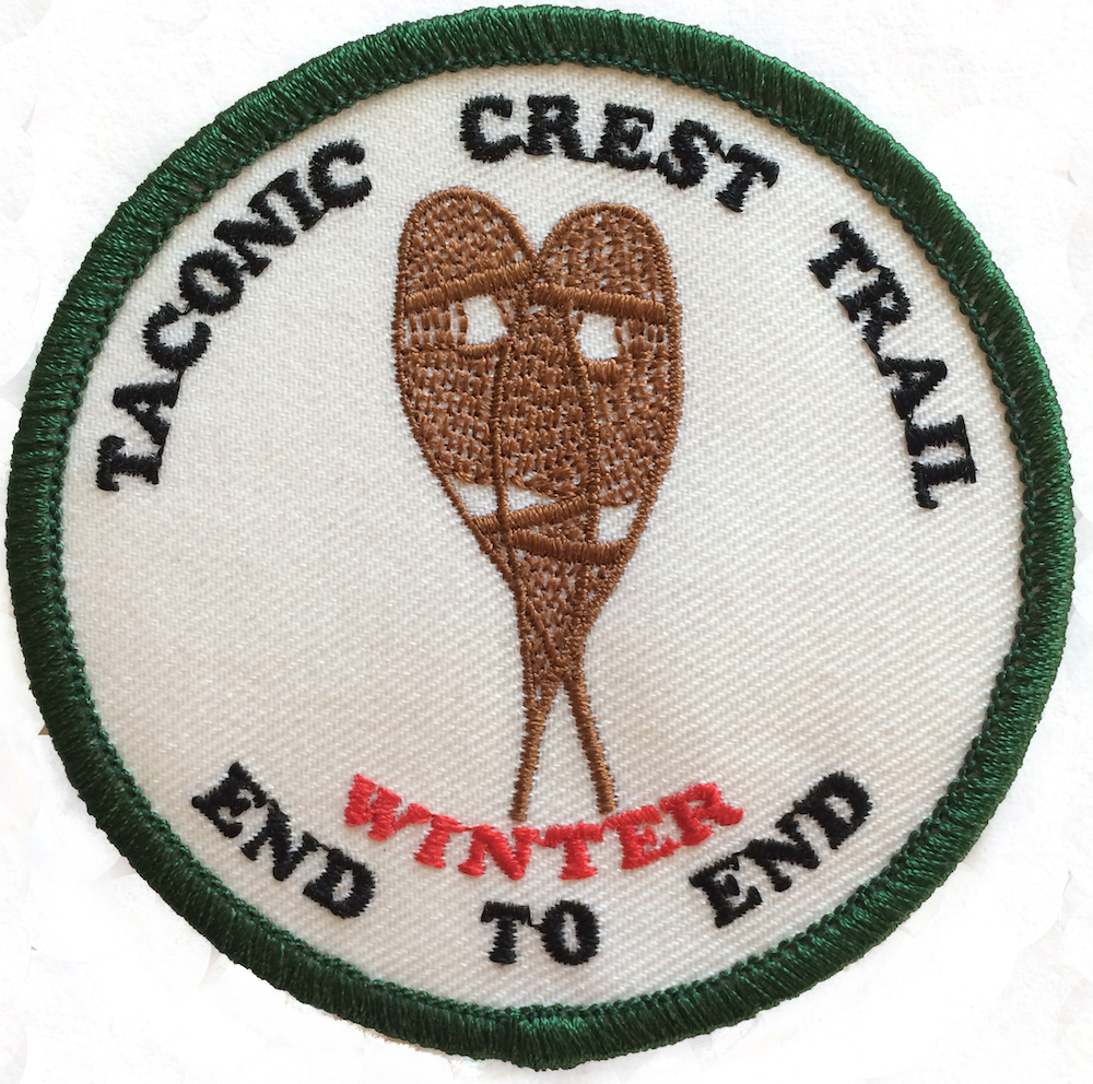 Taconic Hiking Club Winter Trail Patch