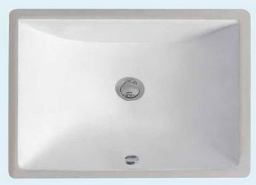 Undermount Lavatory Porcelain Sink -