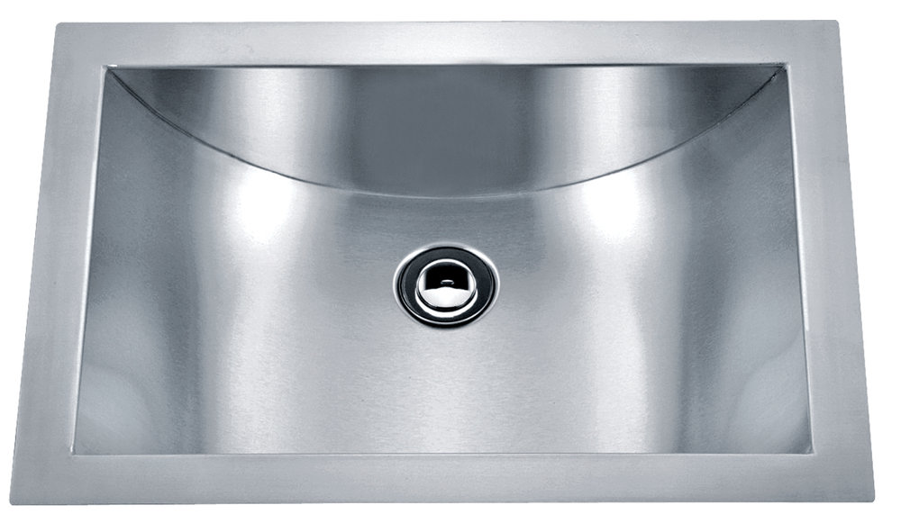 Single bowl Undermount Legend Stainless Steel Bathroom Sink -