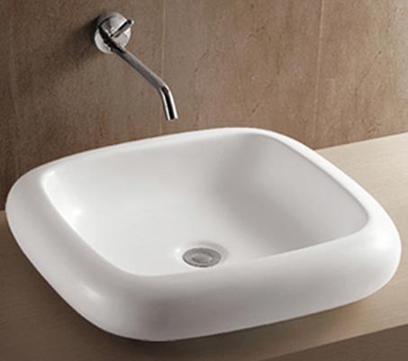 Vessel Lavatory Porcelain Sink -