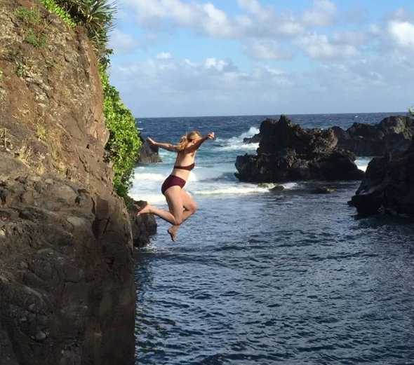 Taking a leap of faith, even when you're scared -