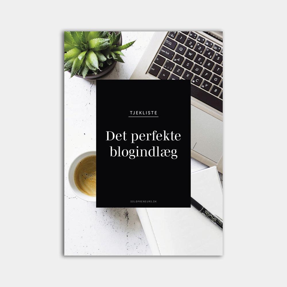 Tjekliste: Det perfekte blogindlæg