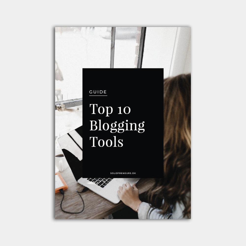 Guide - Top 10 tools til blogging