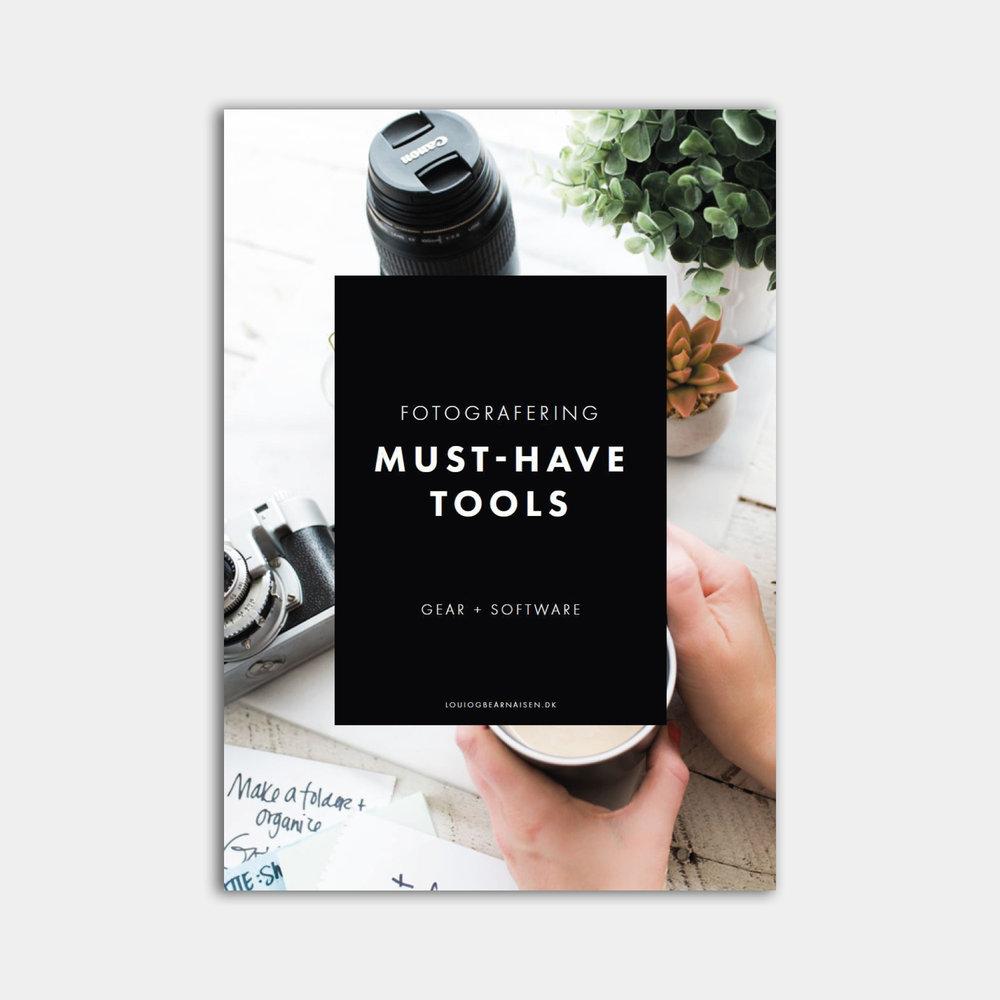 foto-guide - Must-have gear + software: Den ultimative guide til det rigtige fotoudstyr til begyndere