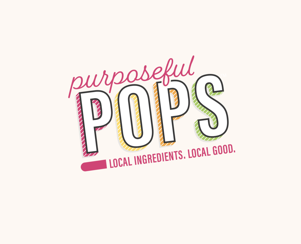 Purposeful Pops Brand Identity Design | Curious & Co. Creative