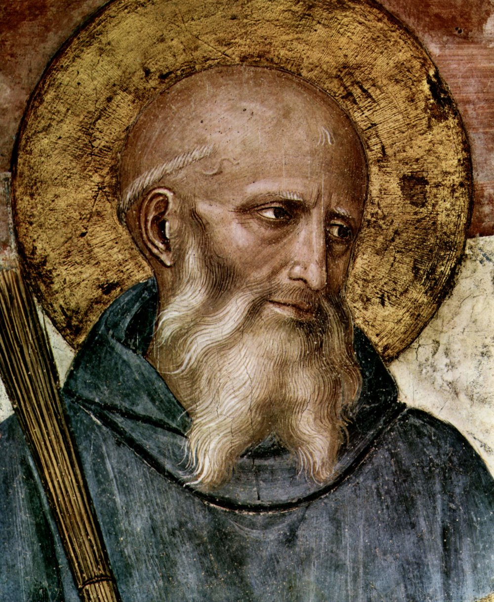 St. Benedict, by Fra Angelico