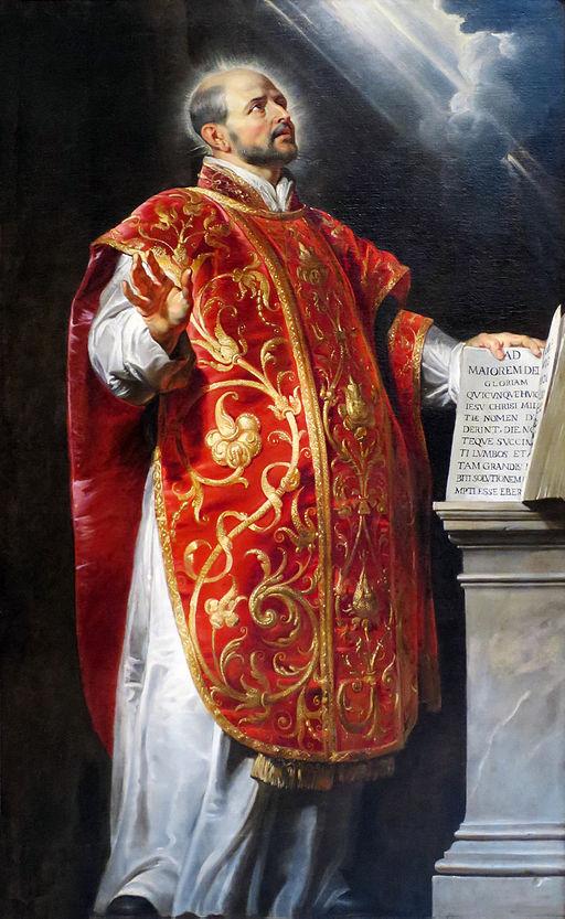 St Ignatius of Loyola, by Peter Paul Rubens