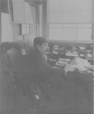 Sigmund Eisner at Work