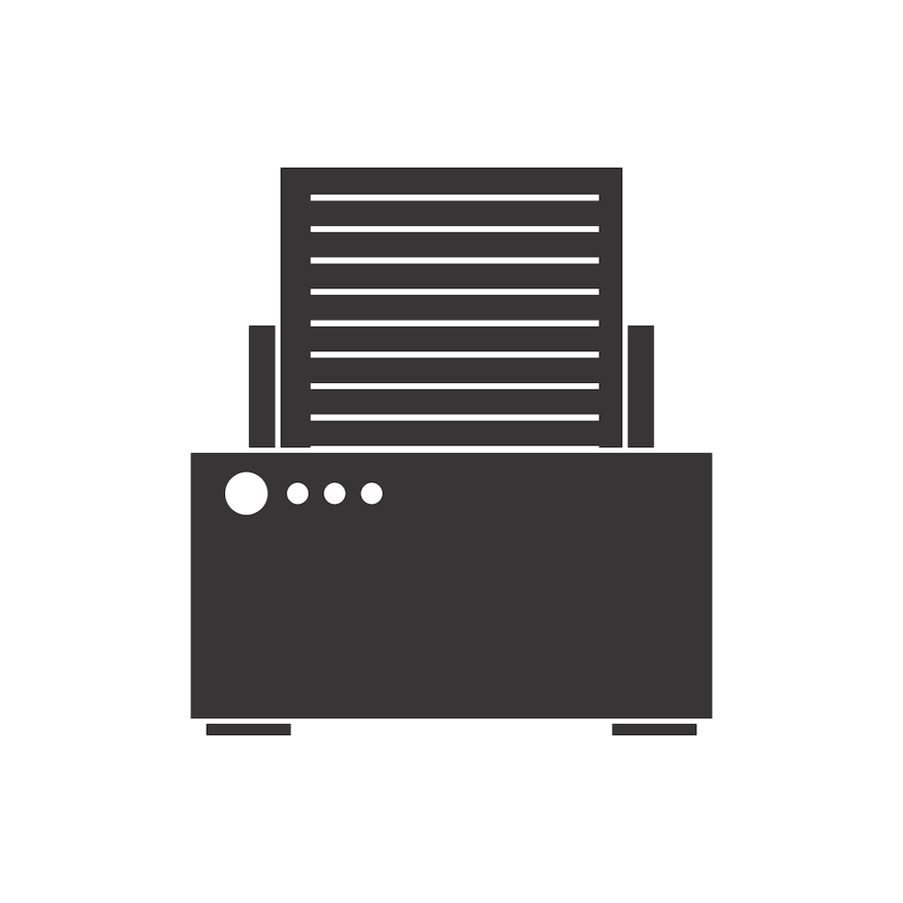 You can print off the library's printers from your laptop  by clicking here .