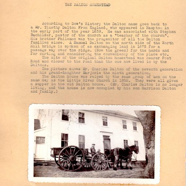 North Hampton Historical Society Blog
