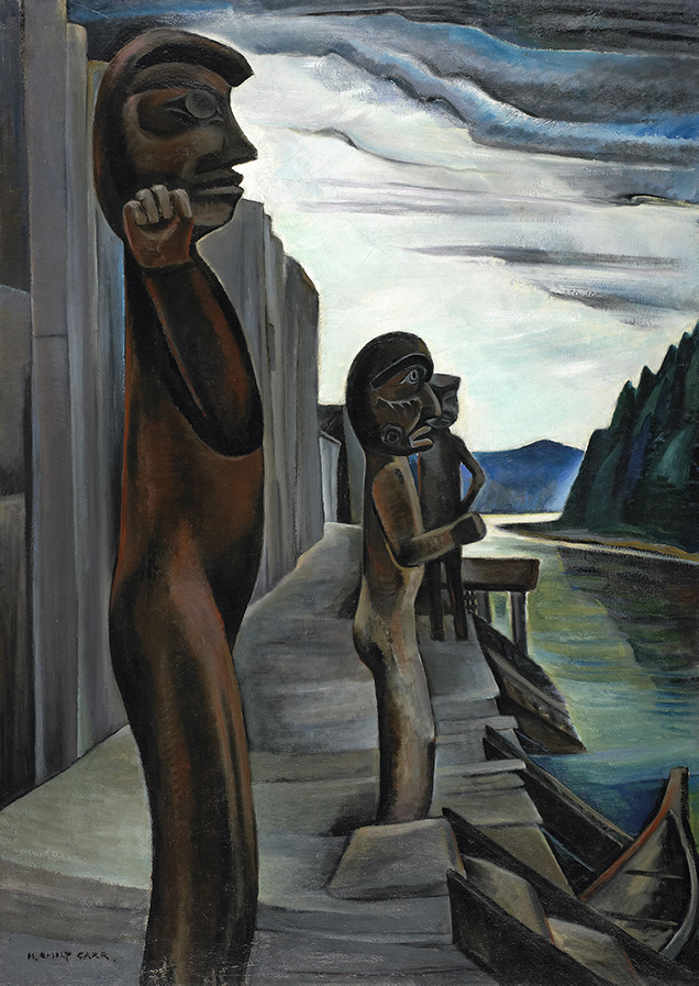 Blunden Harbour by Emily Carr, circa 1931