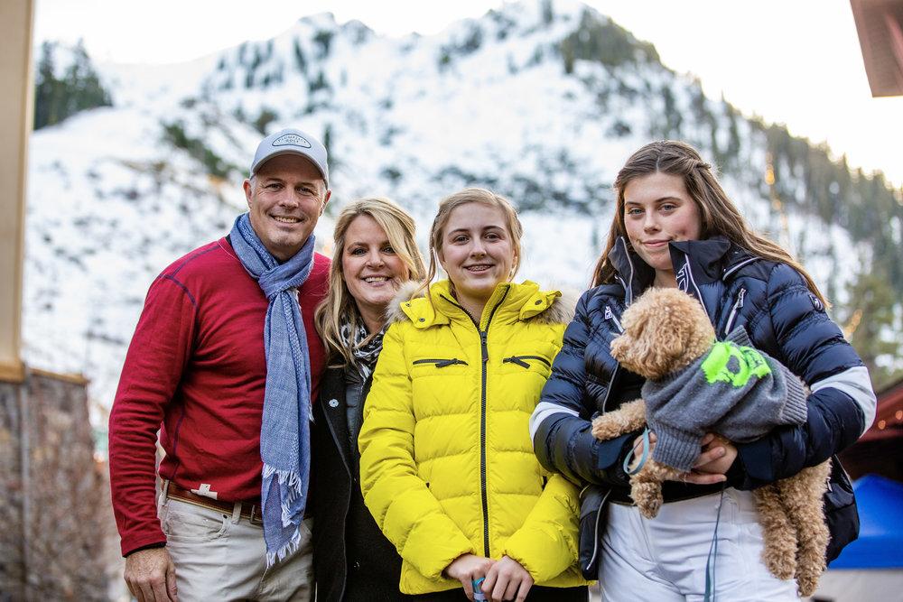 Geoff, Hilary, Siena, Tali