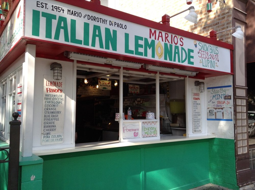 Mario's Italian Ice on Taylor Street - 1068 W Taylor St Chicago, IL 60607MORE INFO