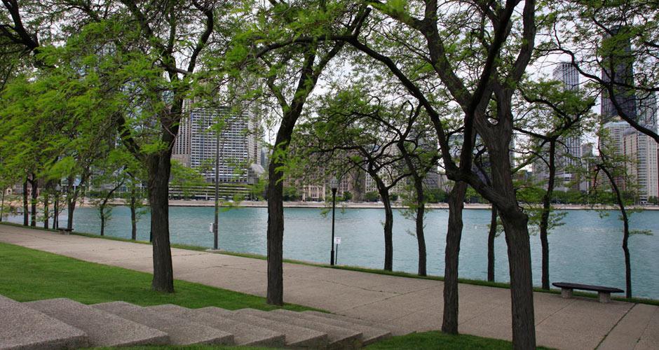 Milton Lee Olive Park - 511 N Columbus Dr. Chicago, IL 60611
