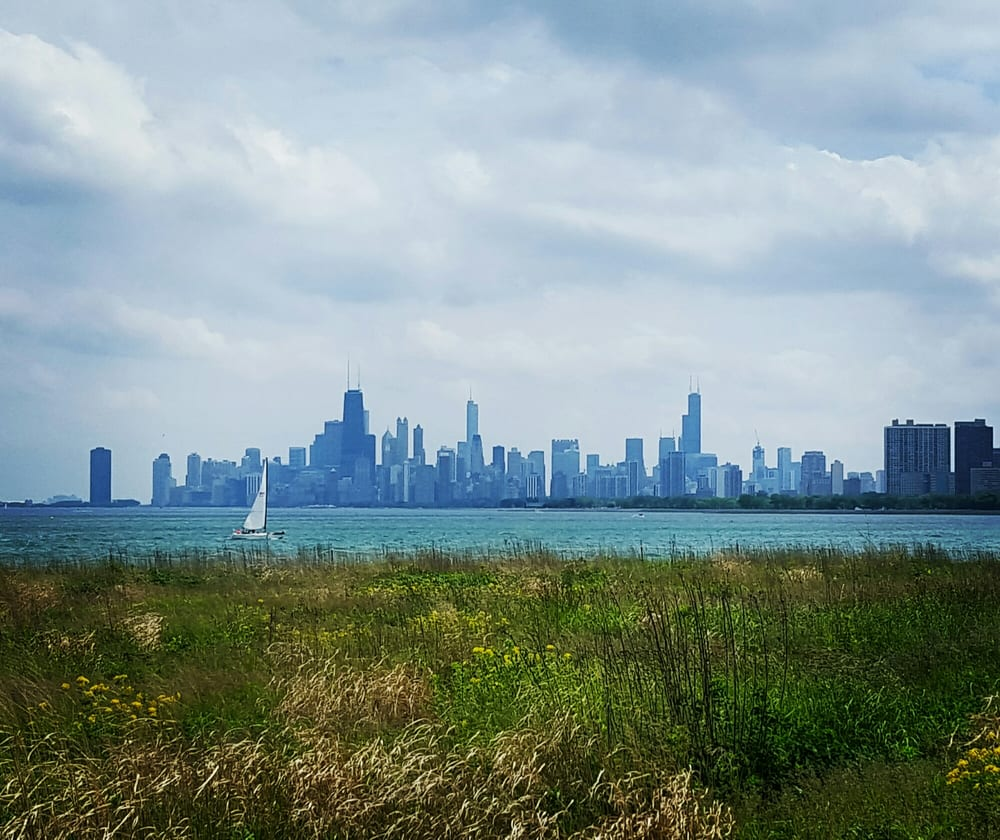 The Magic Hedge and Montrose Pier Light - 4400 N. Lake Shore Dr. Chicago, IL 60640
