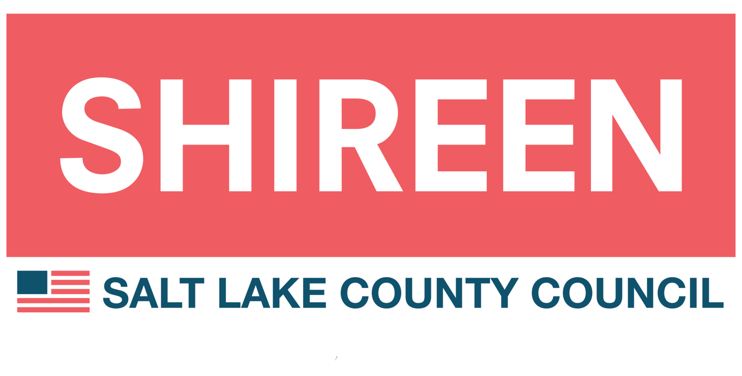 Shireen Salt Lake County Council