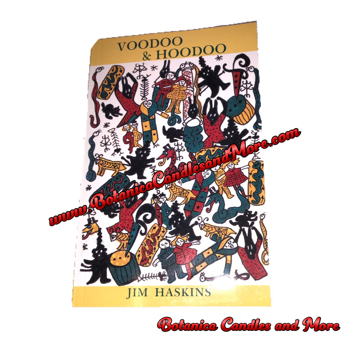 Voodoo Hoodoo Book — BOTANICA CANDLES AND MORE
