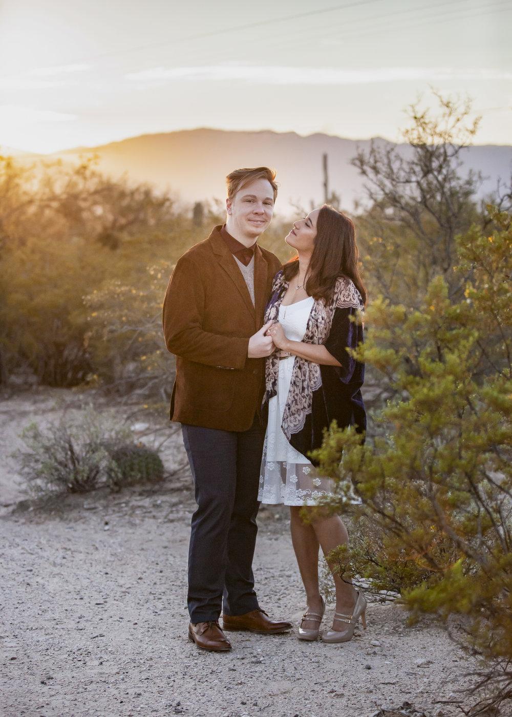 Sabino Canyon // Tucson  Zach & Nicole
