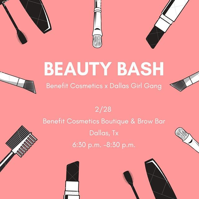 Everyone receives a brow wax or brow tint, followed by a makeupper! Makeuppers include learning how to fill in your brows, maybe learn a new makeup skill like highlighting and contouring, tricks to perfect your winged liner or anything else you've always wanted to try. You don't want to miss this one! Grab your tickets now www.dallasgirlgang.com ⠀⠀⠀⠀⠀⠀⠀⠀⠀ -⠀⠀⠀⠀⠀⠀⠀⠀⠀ -⠀⠀⠀⠀⠀⠀⠀⠀⠀ -⠀⠀⠀⠀⠀⠀⠀⠀⠀ #events #texasevents #texaseventplanner #dallaseventplanner #eventstyling #txevents #dallasevents⠀⠀⠀⠀⠀⠀⠀⠀⠀ #benefitcosmetics #benefitdallas #brows #eyebrowsonfleek #browbar