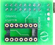 Adapter ST62xx PQFP52 PQFP80