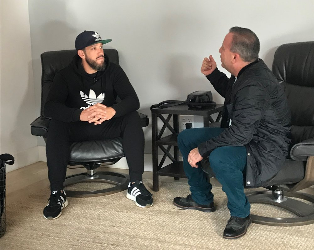 James Shields and David Meltzer talk for the Playbook Podcast.