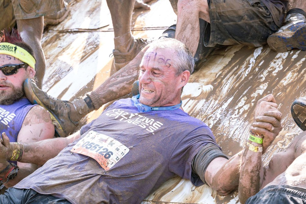 The Dave Didier Story - Currently recovering from bone marrow cancer, he is working to get his body into competitive shape again so he can get back into participating in Tough Mudders.