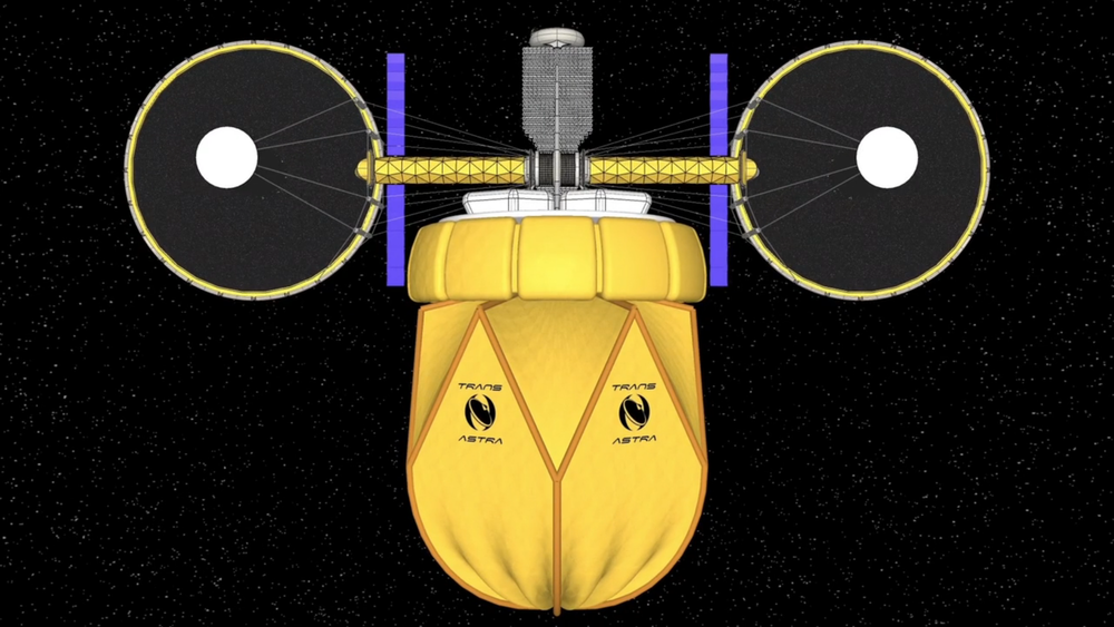 The Queen Bee near Earth asteroid mining spacecraft. Credit: TransAstra Corporation