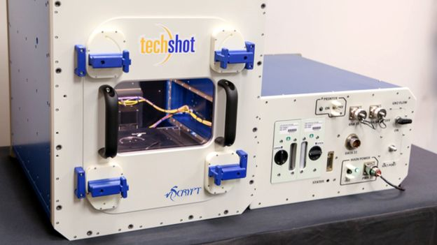 Techshot BioFabrication Facility prior to launch to the ISS. Credit: Techshot