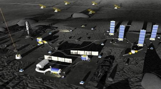International Lunar Research Station (ILRS) for post-2030. Source: CNSA/CLEP.