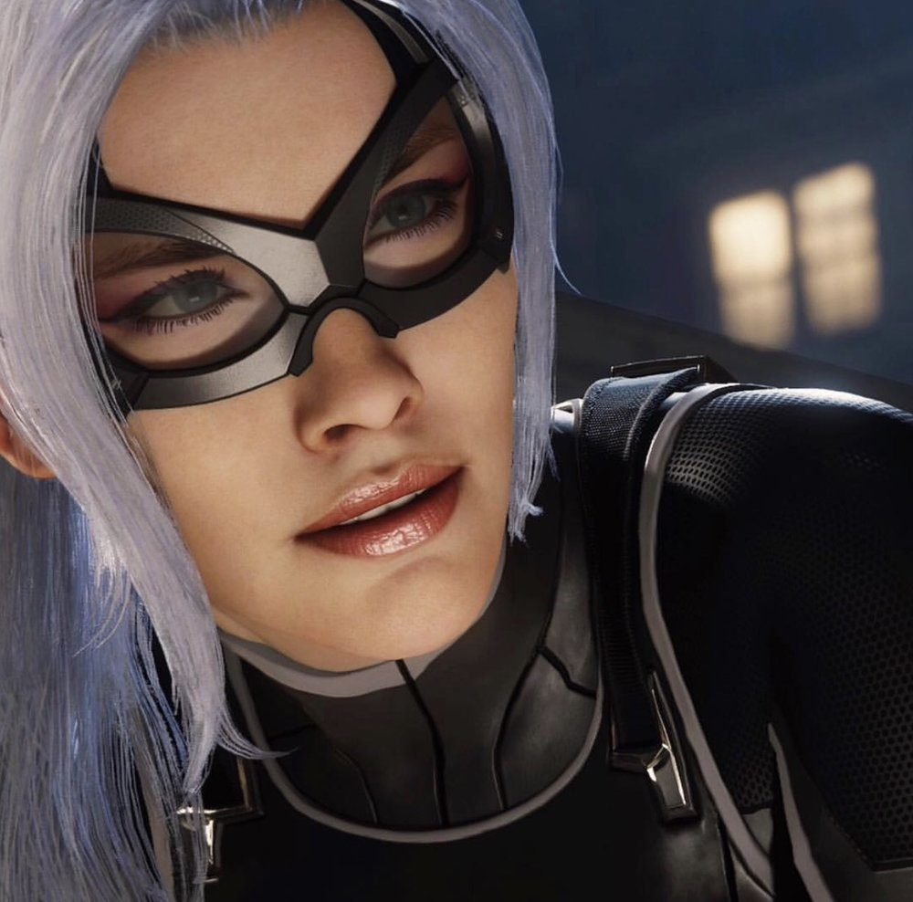 Jayme Lynn is the face of Black Cat - Spider-Man - Insomniac Games