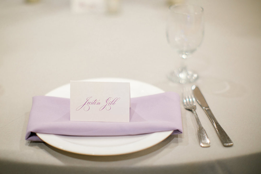 Photo by Rachel Graff  | Social Events banquet hall at Royal Cliff south metro Minnesota | table setting