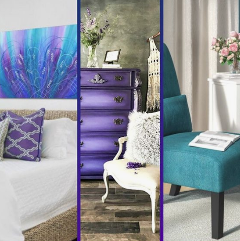 IN: Rich Jewel Tones with an Edge - Paints, fabrics and accessoires in these colors going to be a trend in 2019 by creating a drama against backdrop of white architectual elements, according to Jeff Andrews Design.