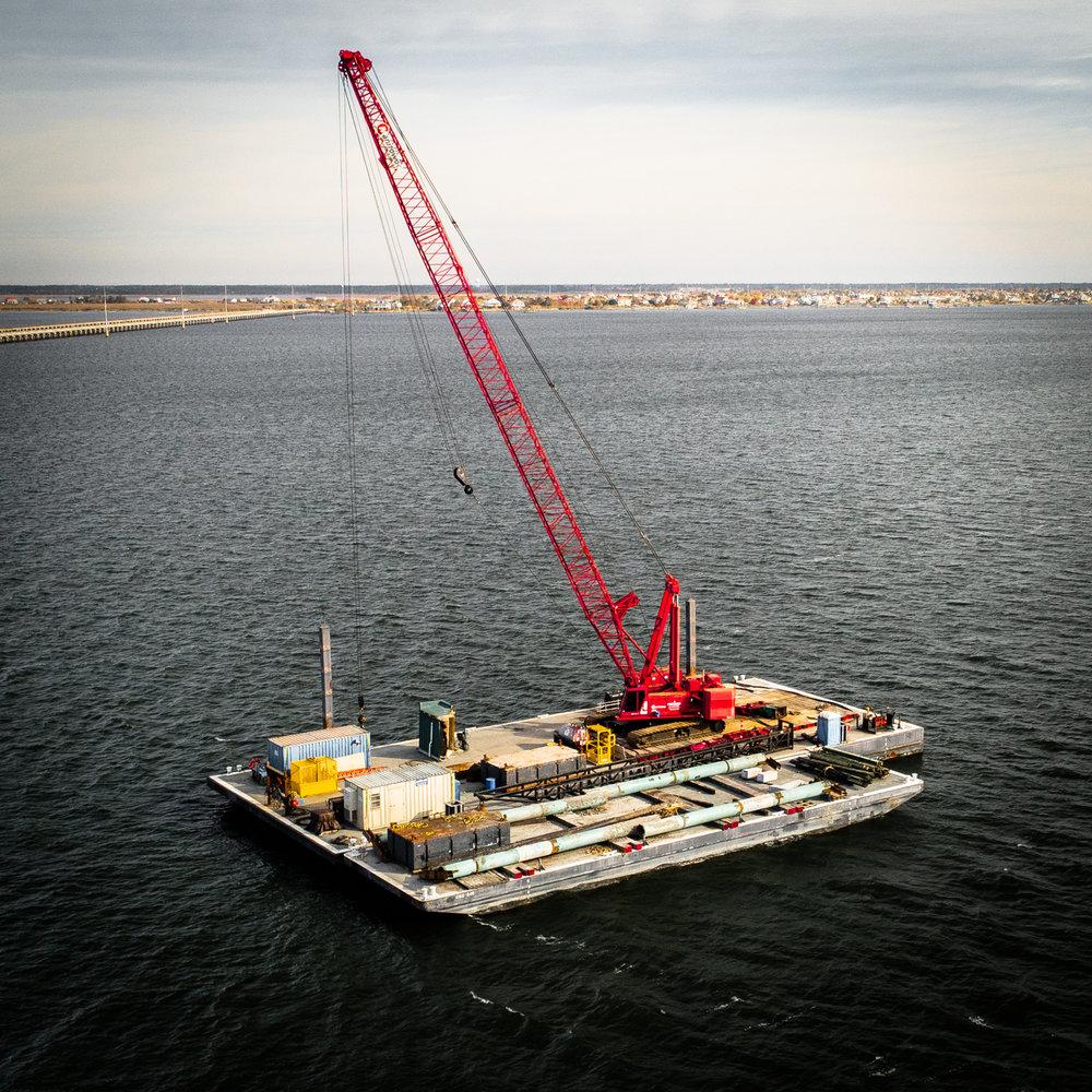 Crane Barges -